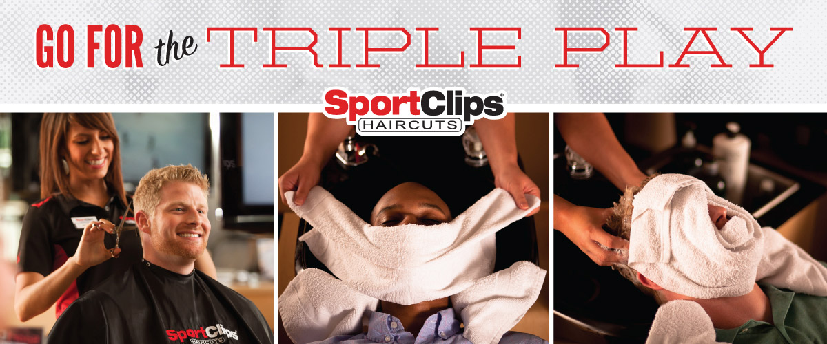 The Sport Clips Haircuts of La Quinta Triple Play